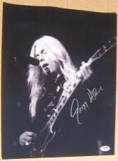 Gregg Allman signed 11x14 photo PSA/DNA autograph Allman Brothers