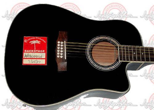 Gregg Allman + Signed Autographed 12-STRING Acou Guitar PSA AFTAL