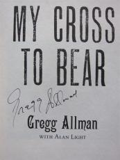 Gregg Allman signed Book My Cross to Bear PSA/DNA Allman Brothers