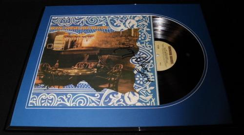 Gregg Allman Signed Framed 1975 Win Lose or Draw Record Album Display