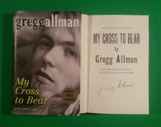 Gregg Allman Signed My Cross To Bear Limited Edition 1st Edition Hardcover Book