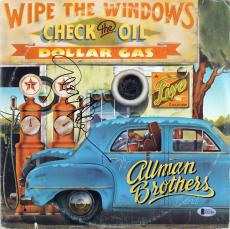 Gregg Allman Signed Wipe The Windows Album Cover W/ Vinyl BAS #D67066
