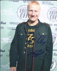 Gregg Bissonette Signed Autographed 8x10 Photo Ringo Starr Band David Lee Roth 4
