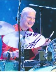 Gregg Bissonette Signed Autographed 8x10 Photo Ringo Starr Band David Lee Roth C