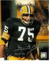 Green Bay Packers Forrest Gregg 8'' x 10'' Autographed Photograph - Mounted Memories