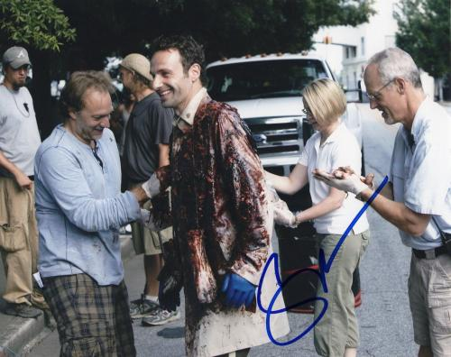 Gregory Nicotero The Walking Dead Signed 8x10 Photo w/COA Director #12