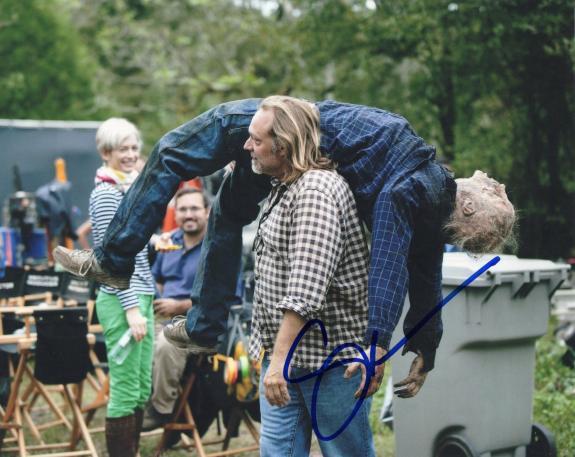 Gregory Nicotero The Walking Dead Signed 8x10 Photo w/COA Director #13