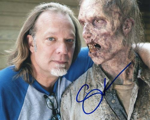 Gregory Nicotero The Walking Dead Signed 8x10 Photo w/COA Director #14