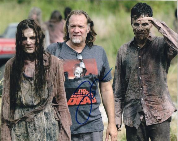 Gregory Nicotero The Walking Dead Signed 8x10 Photo w/COA Director #2
