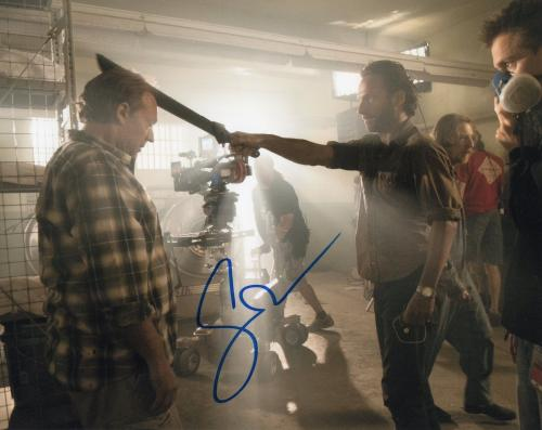 Gregory Nicotero The Walking Dead Signed 8x10 Photo w/COA Director #3