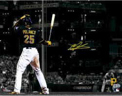 "Gregory Polanco Pittsburgh Pirates Autographed 11"" x14"" Spotlight Photograph"