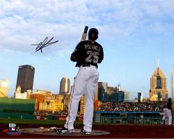 Gregory Polanco Pittsburgh Pirates Autographed 16'' x 20'' Waiting On Deck Photograph