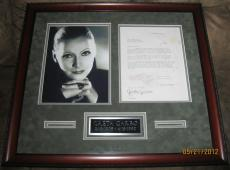 Greta Garbo Original 1927 Signed MGM Movie Contract.  PSA/DNA Full letter coa!!