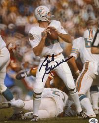 Bob Griese Miami Dolphins Autographed 8'' x 10'' Look Throw Photograph