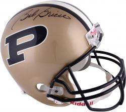 Bob Griese Purdue Boilermakers Autographed Riddell Replica Helmet