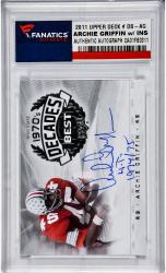Archie Griffin Ohio State Buckeyes Autographed 2011 Upper Deck #DB-AG with HT 1974/75 Inscription