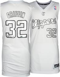 Blake Griffin Los Angeles Clippers Autogtraphed 2012 Adidas Swingman Winter White Jersey - Mounted Memories
