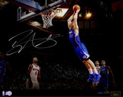Blake Griffin Los Angeles Clippers Autographed 16'' x 20'' In Flight Photograph - Mounted Memories