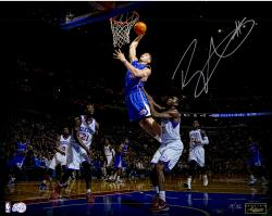 Blake Griffin Los Angeles Clippers Autographed 16'' x 20'' Poetry In Motion Photograph - Mounted Memories