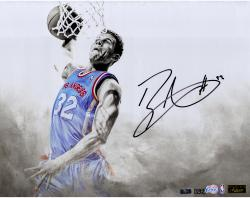 Blake Griffin Los Angeles Clippers Autographed 16'' x 20'' White Out Photograph-Limited Edition of 32 - Mounted Memories