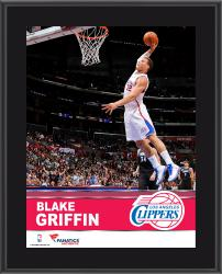 Blake Griffin Los Angeles Clippers Sublimated 10.5'' x 13'' Plaque - Mounted Memories