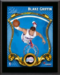"""Blake Griffin Los Angeles Clippers Sublimated 10.5"""" x 13"""" Stylized Plaque"""