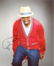 Eddie Griffin Autographed 8'' x 10'' Red Sweater Photograph