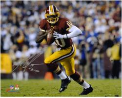"Robert Griffin III Washington Redskins Autographed 8"" x 10"" Run with Ball Photograph"