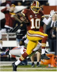 "Robert Griffin III Washington Redskins Autographed 8"" x 10"" vs New York Giants Photograph"