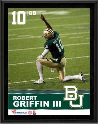 """Robert Griffin III Baylor Bears Sublimated 10.5"""" x 13"""" Plaque"""