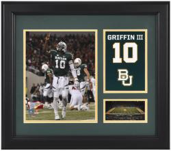 "Robert Griffin III Baylor Bears Framed Campus Legend 15"" x 17"" Collage"