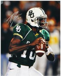 "Robert Griffin III Baylor Bears Autographed 16"" x 20"" Close Up Photograph"