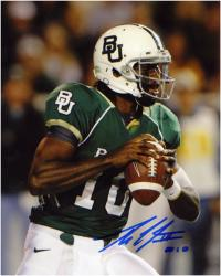"Robert Griffin III Baylor Bears Autographed 8"" x 10"" Looking to Pass Photograph"