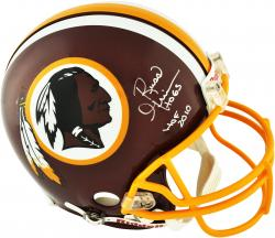 Russ Grimm Washington Redskins Autographed Riddell Pro Line Authentic Helmet - Mounted Memories