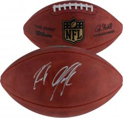 Rob Gronkowski New England Patriots Autographed Duke Pro Football - Mounted Memories