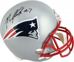 Rob Gronkowski New England Patriots Autographed Riddell Replica Helmet