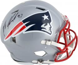 Rob Gronkowski New England Patriots Autographed Riddell Pro-Line Speed Helmet