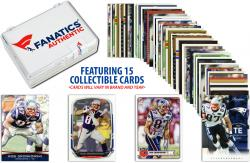 Rob Gronkowski New England Patriots Collectible Lot of 15 NFL Trading Cards
