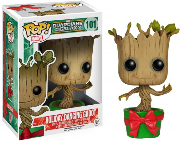 Groot Guardians of the Galaxy #101 Holiday Dancing Funko Pop!