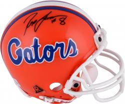 Rex Grossman Florida Gators Autographed Riddell Mini Helmet