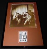 Groucho Marx 11x17 Framed ORIGINAL Topps Card & Marx Brothers Photo Display