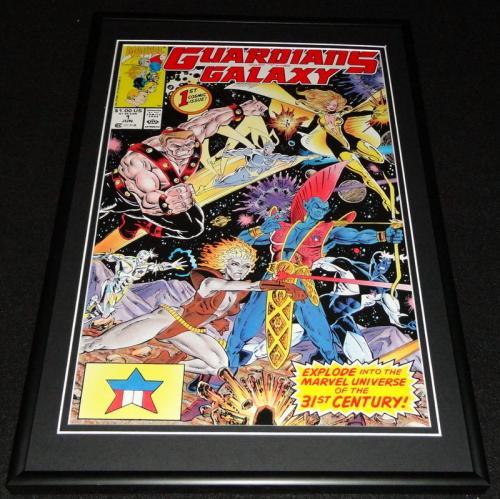 Guardians of the Galaxy #1 Framed 12x18 Cover Poster Display Official Repro
