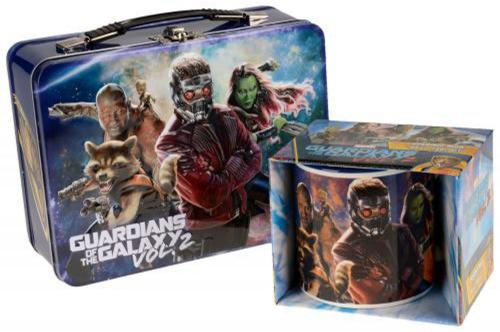 Guardians of the Galaxy 20 oz. Ceramic Mug and Large Tin Tote Set