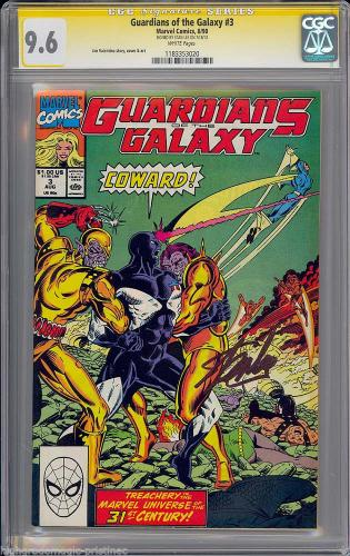 Guardians Of The Galaxy #3 Cgc 9.6 Ss Stan Lee Signed Sig Series #1183353020