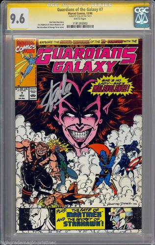 Guardians Of The Galaxy #7 Cgc 9.6 Ss Stan Lee  Sig Series  Cgc #1191283002