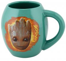 Guardians of the Galaxy Groot 18 oz Oval Character Mug