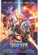 GUARDIANS OF THE GALAXY Vol 2 Double Sided Theater 27x40 Original Movie Poster