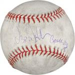 "Ozzie Guillen Autographed 2005 White Sox Game Used Baseball with ""2005 Game Used"" Inscription"