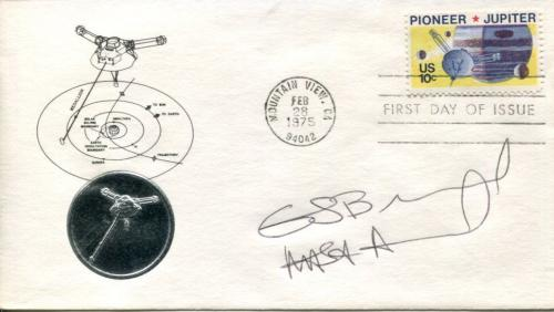 Guion Bluford 1st Black NASA Astronaut Space Signed Autograph FDC