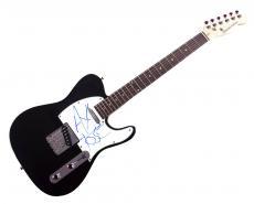 Guns N Roses Axl Rose Autographed Signed Tele Guitar Uacc Rd Coa